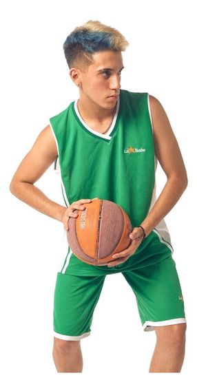 Musculosa Deportiva Verde Colegial Personalizada