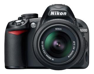 Camara Semiprofesional Nikon D3100 + Macro Gran Angular 52mm