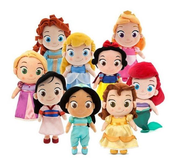 Kit Pelúcia Disney Princesas Macio Lindas Dtc 4344 (9un)