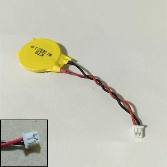 Bateria Cmos Setup Bios Cr2032 Placa Mãe De Notebook 2 Pinos
