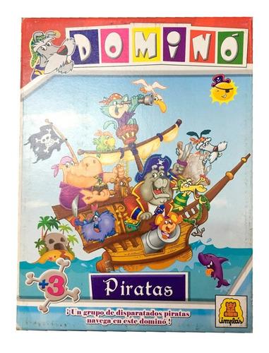 Domino Implas Piratas Infantil 28 Fichas