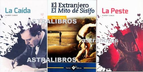 Imagen 1 de 10 de Pkt3 El Extranjero - El Mito De Sísifo + La Peste + La Caída