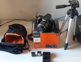 Câmera Digital Dslr Sony Alpha A55