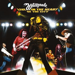 Whitesnake Live In The Heart Of The City Cd Uk Import