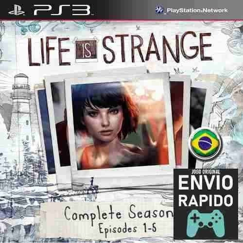 Life Is Strange Temporada Completa 5 Episodios Jogos Ps3