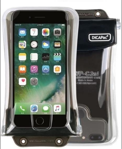 Funda Dicapac Sumergible Acuática Celular iPhone 10 Mts