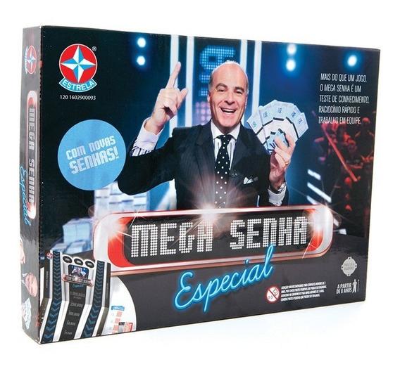 Jogo Mega Senha Especial - Estrela Estrela