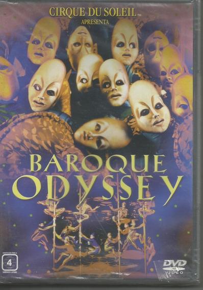 Dvd Cirque Du Soleil Baroque Odyssey - Lacrado