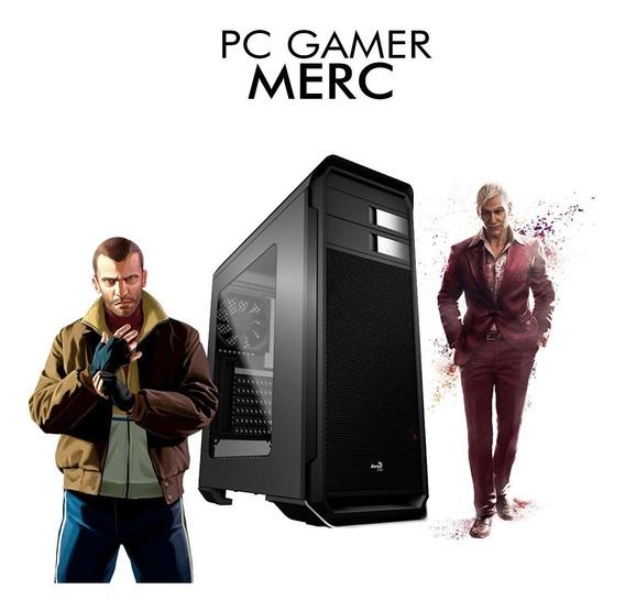 Pc Gamer Merc - Intel Pentium G5400, Rx 550 4gb, 1tb, 8gb