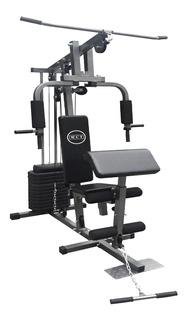 Estação De Musculação Aparelho Com 80kg + Brindes