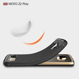 Funda Protector Case Celular Motorola Moto Z2 Play Black