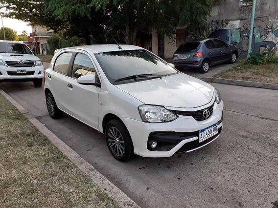Toyota Etios 1.5n 5p X 2018