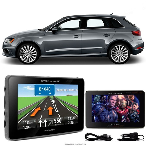 Gps Automotivo Audi A3 Tela 4.3 Voz Tv Digital Fm Oferta