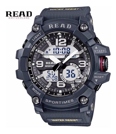 Relógio Masculino Read Esportivo Militar Preto