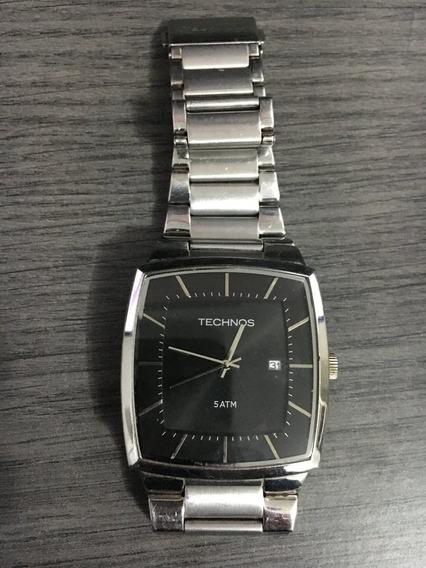 Relógio Technos Masculino Aço Inoxidável - Alta Qualidade
