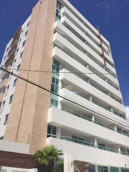 Apartamento Com 1 Dormitório Para Alugar, 55 M² Por R$ 1.750,00/mês - Manaíra - João Pessoa/pb - Ap1207