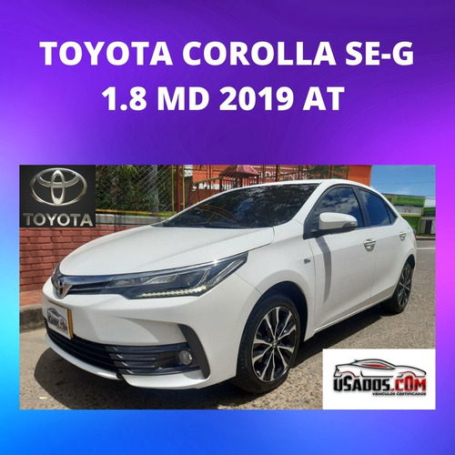 Toyota Corolla Se-g 1.8 Md 2019 At