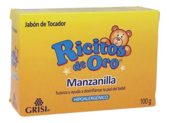 Jabón Ricitos De Oro Grisi Manzanilla 100 G