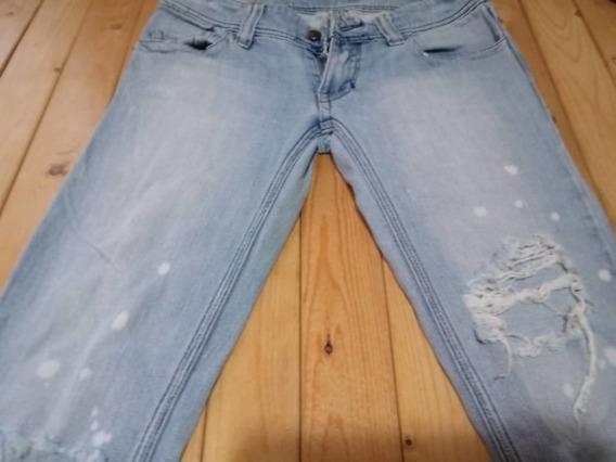 Pantalón Jean Para Dama Talla 3
