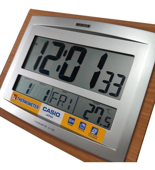 Relógio Casio Digital De Parede Mesa Termômetro Original Nf
