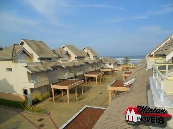 Condomínio Frente Para O Mar Em Peruíbe Sobrados Frente Para O Mar Com 4 Dormitórios Sendo 2 Suites, Sala Para 2 Ambientes, Cozinha Americana, Lavanderia Para 2 Carros, Piscina Adu - Ca00619 - 2252359