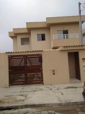 Casa Sobreposta Ficando Lado Serra Com 125m² Total 5555e