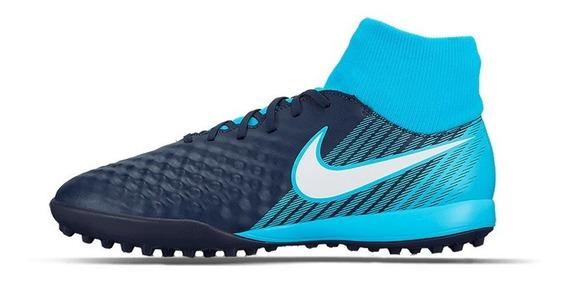 Tenis Nike Magistax Onda 2 Azules Oferta