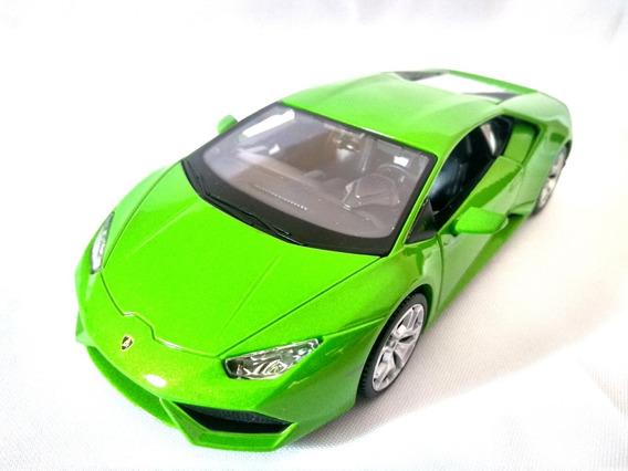 Miniatura Lamborghini Huracan Lp 610-4 Escala 1/24 Verde