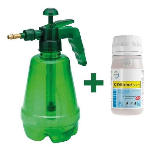 Pulverizador Trapp 1,5 L + Inseticida K-othrine Sc 25 250ml
