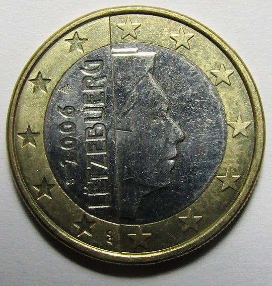Luxemburgo Moneda Bimetalica 1 Euro 2004 Unc Km#81