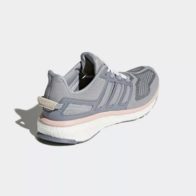 Tenis adidas Energy Boost 3 Cinza/rosa