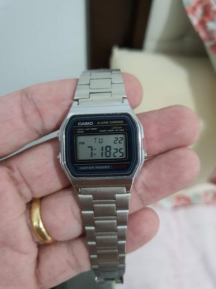 Relógio Casio Aço Inoxidável A158w
