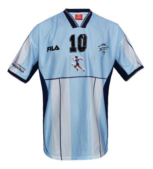 Camiseta Homenaje Maradona Argentina Par Despedida Fila 2001