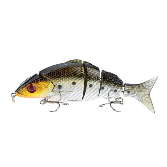 12,5cm / 5 21g Biônico Multi Jointed Pescaria Lure Natural D