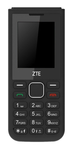 Celular Zte R570 Dual Sim, Cámara, Fm, Garantía 1 Año, Negro