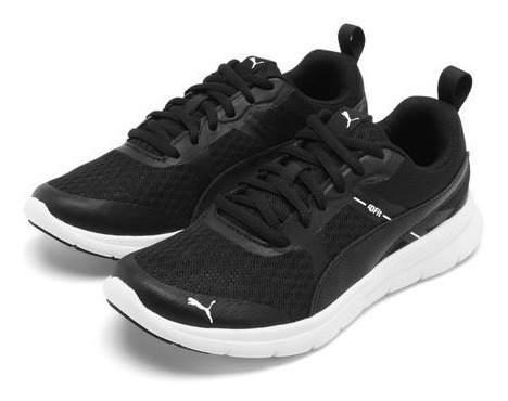 Tênis Puma Flex Essential Jr Preto