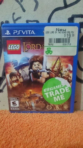 Lego The Lord Of The Rings Ps Vita Frete R$10