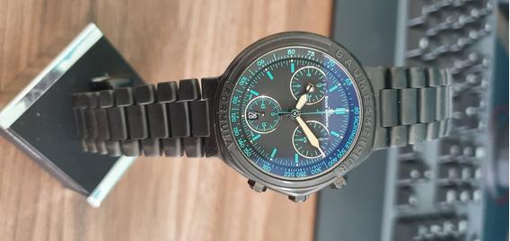 Relógio Suíço Baume Et Mercier Masculino Formula S Preto
