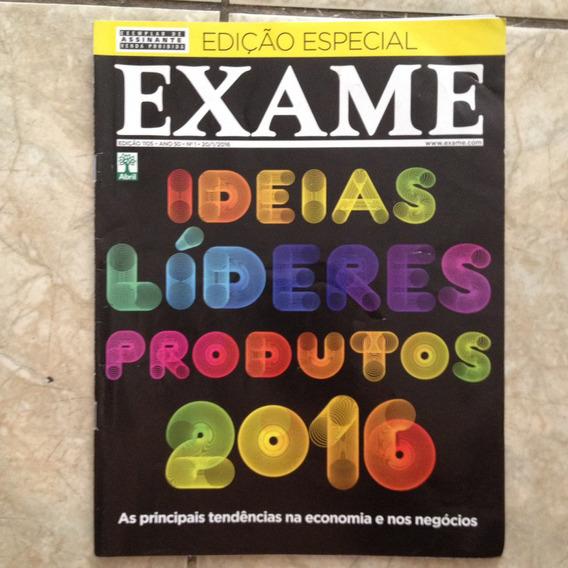 Revista Exame 1105 Ed. Especial Ideias Líderes Produtos 2016