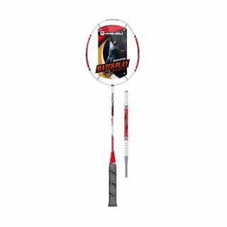 Raquete Badminton Winmax Thrones 500 Branco E Vermelho