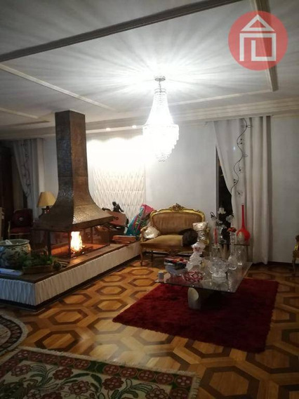 Casa Com 4 Dormitórios À Venda, 355 M² Por R$ 1.600.000 - Centro - Bragança Paulista/sp - Ca2454