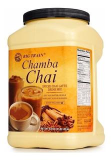 Chamba Chai Te Latte Rinde Bebida Cafe Cadena