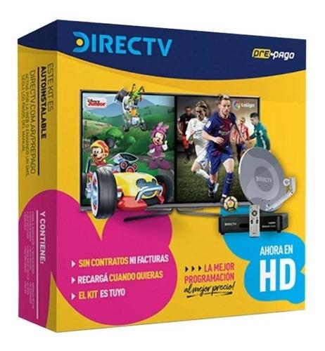 Directv Kit Prepago Antena Hd 46 Cm Autoinstalable