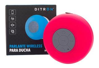 Parlante Bluetooth Waterproof Sopapa Agua Ducha Ditron