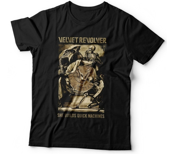 Remera Velvet Revolver Guns Stone Temple Pilots Dtg