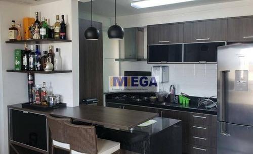 Apartamento Com 3 Dormitórios À Venda, 87 M² Por R$ 564.900,00 - Swift - Campinas/sp - Ap5001