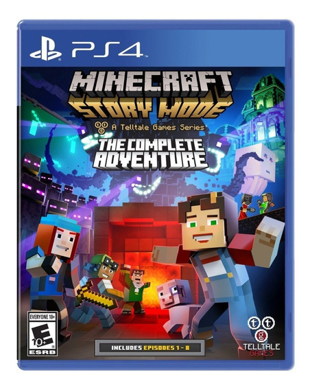 Minecraft Story Mode: Complete Adventure - Ps4 - Nuevo