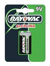 Kit C/ 3 Bat Rayovac Alc 9v Sm 12x