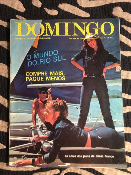 Revista Domingo 82 Rio Sul Baby Consuelo Pepeu Gomes Luma