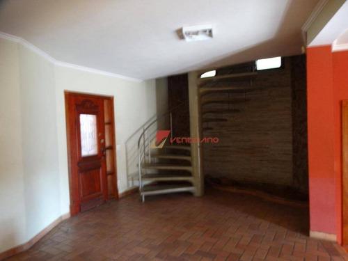 Casa Com 3 Dormitórios À Venda, 226 M² Por R$ 650.000,00 - Jardim Morato - Piracicaba/sp - Ca0692
